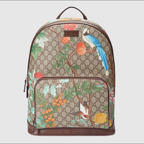 Floral Gucci Backpack🔥 08d851a567f9d